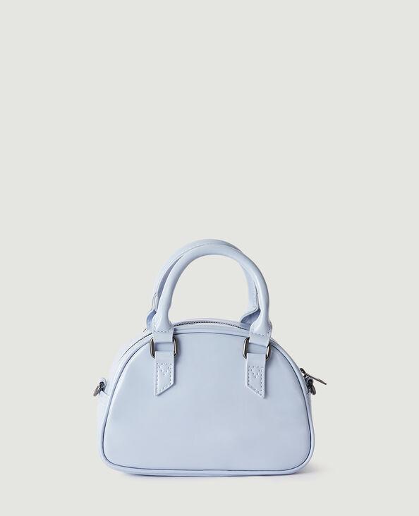 Petit sac vinyle à bandoulière amovible bleu - Pimkie