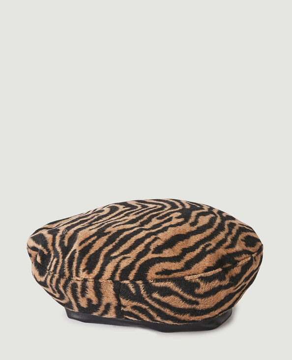 Béret motif léopard brun - Pimkie