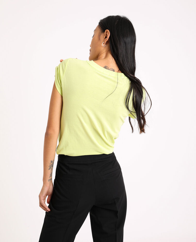 T-shirt fluo vert fluo - Pimkie