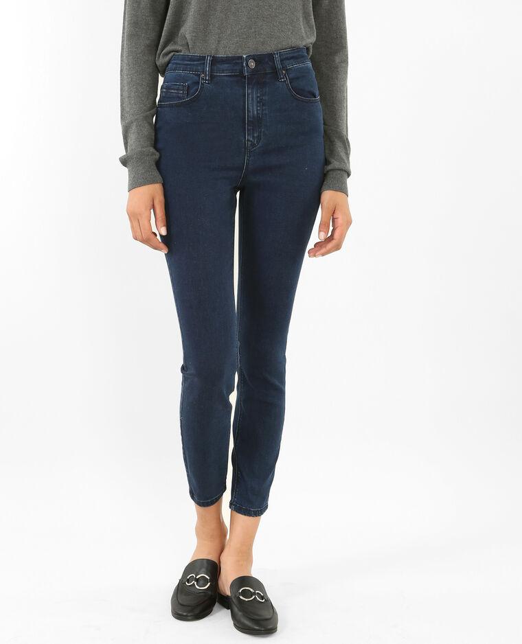6d07b2d59c975 Jean skinny taille haute bleu - 140361682A06   Pimkie