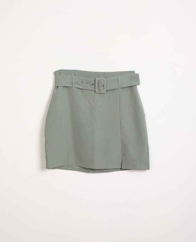 Jupe courte vert - Pimkie