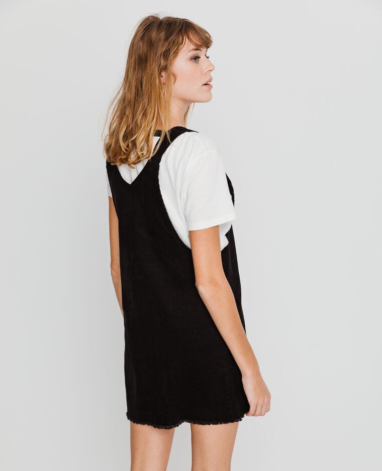 Robe salopette noir