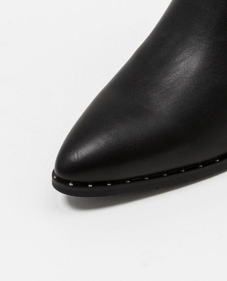 Bottines chelsea cloutées noir - Pimkie