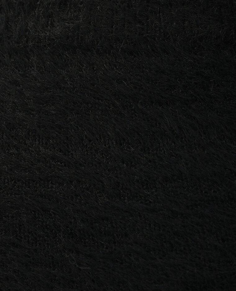 Jupe moumoute noir - Pimkie