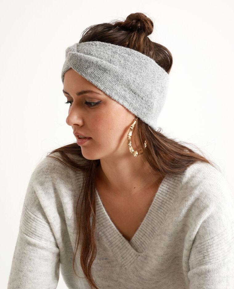 Headband pour cheveux gris chiné