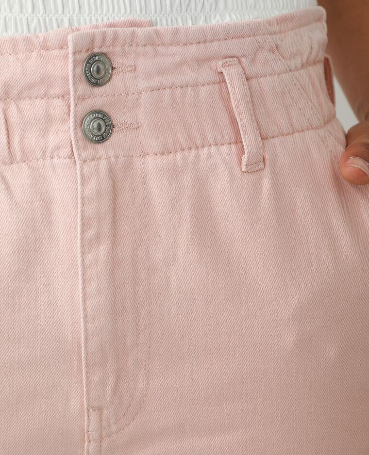 Jean mom high waist rose - Pimkie