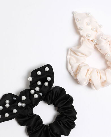 Chouchous à perles noir