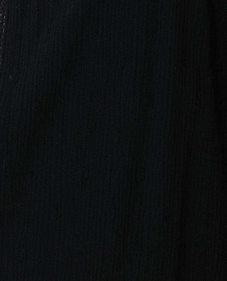 Top plumetis noir - Pimkie