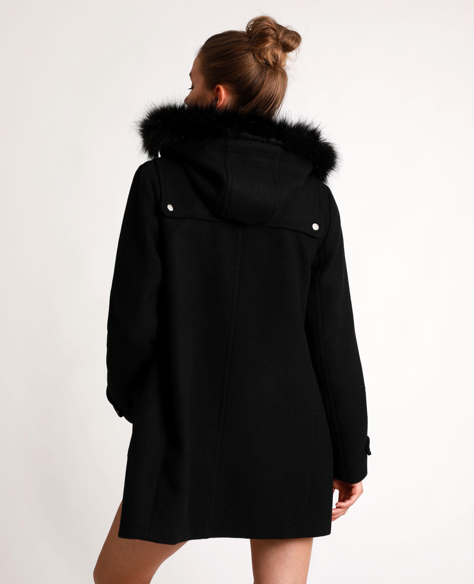 Manteau blanc femme pimkie