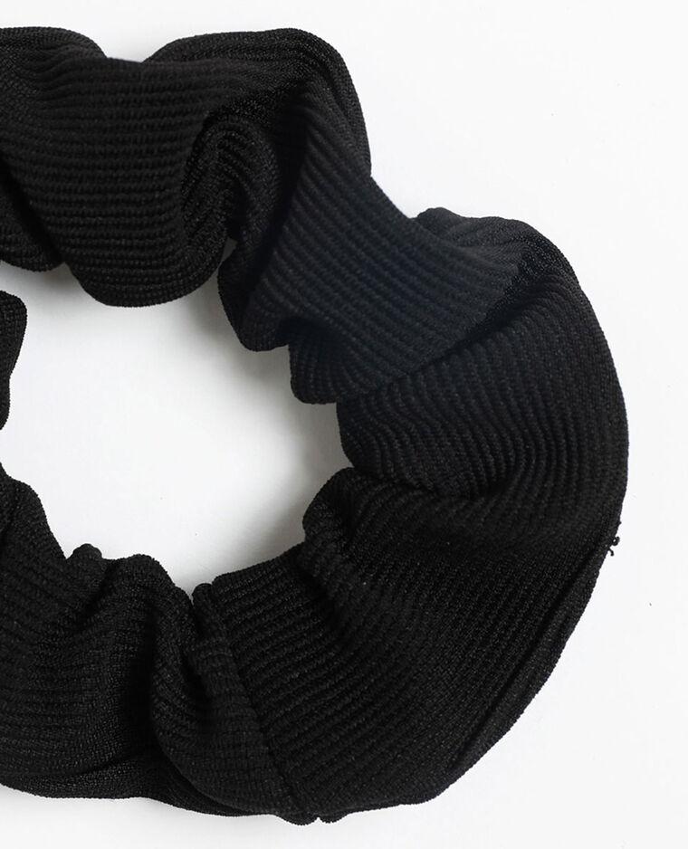 Chouchou texturé noir