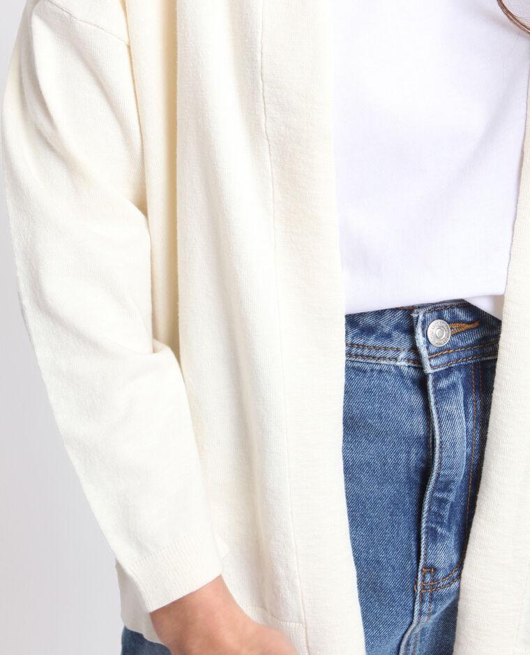 Gilet ample blanc
