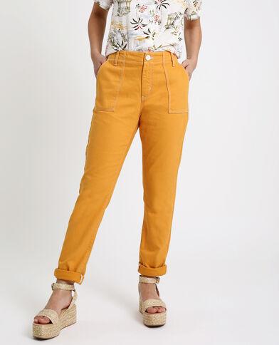 Pantalon charpentier jaune