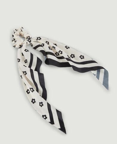 Chouchou effet foulard noir - Pimkie