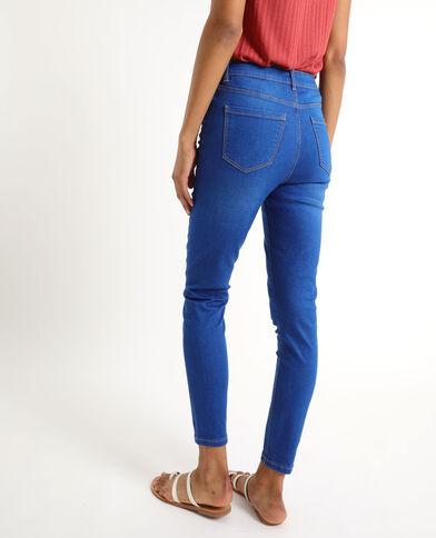 Jean skinny taille haute bleu ciel