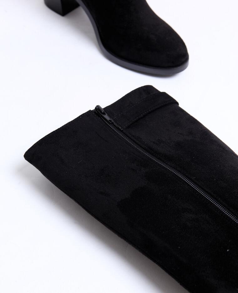 Bottes suédine noir
