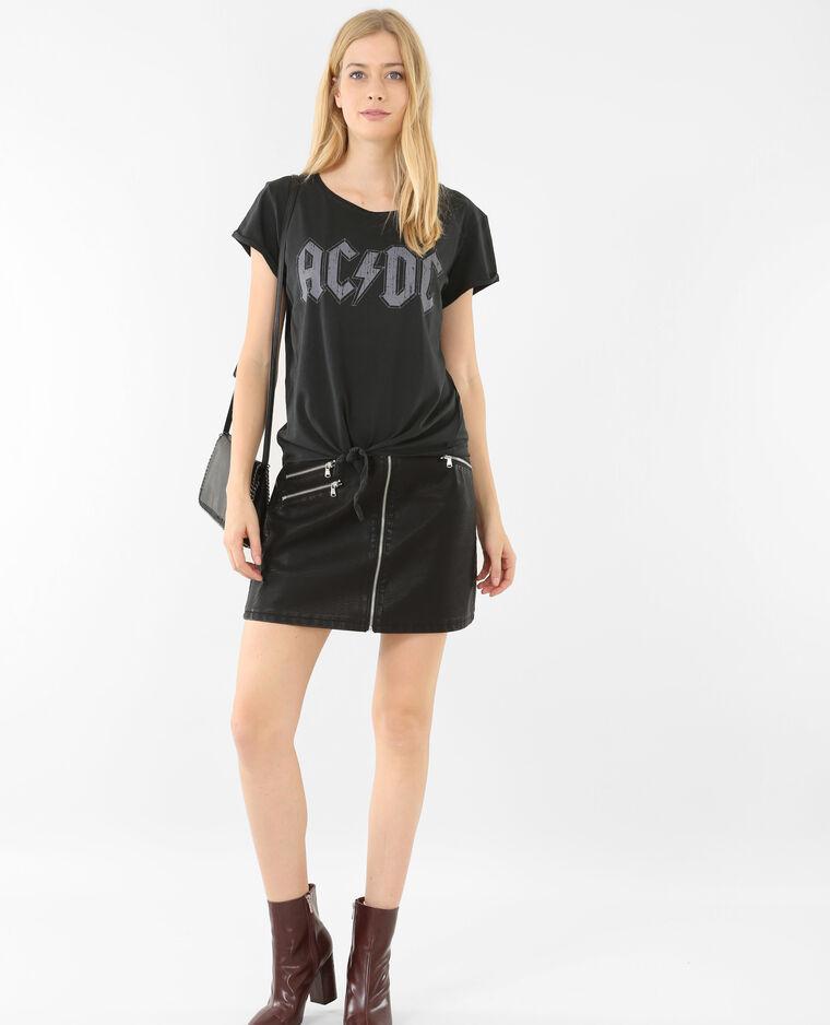 T-shirt rock noir