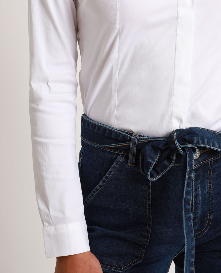 Chemise cintrée blanc - Pimkie