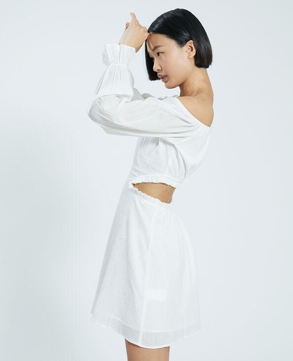 Robe dos nu blanc cassé - Pimkie
