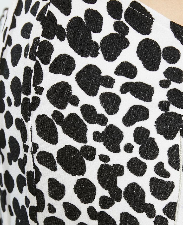 Bustier dalmatien blanc - Pimkie
