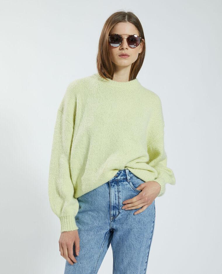 Pull jaune pâle - Pimkie
