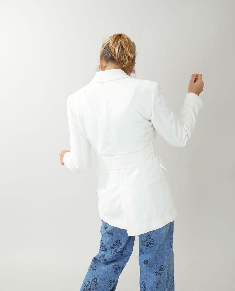 Veste city blanc cassé - Pimkie