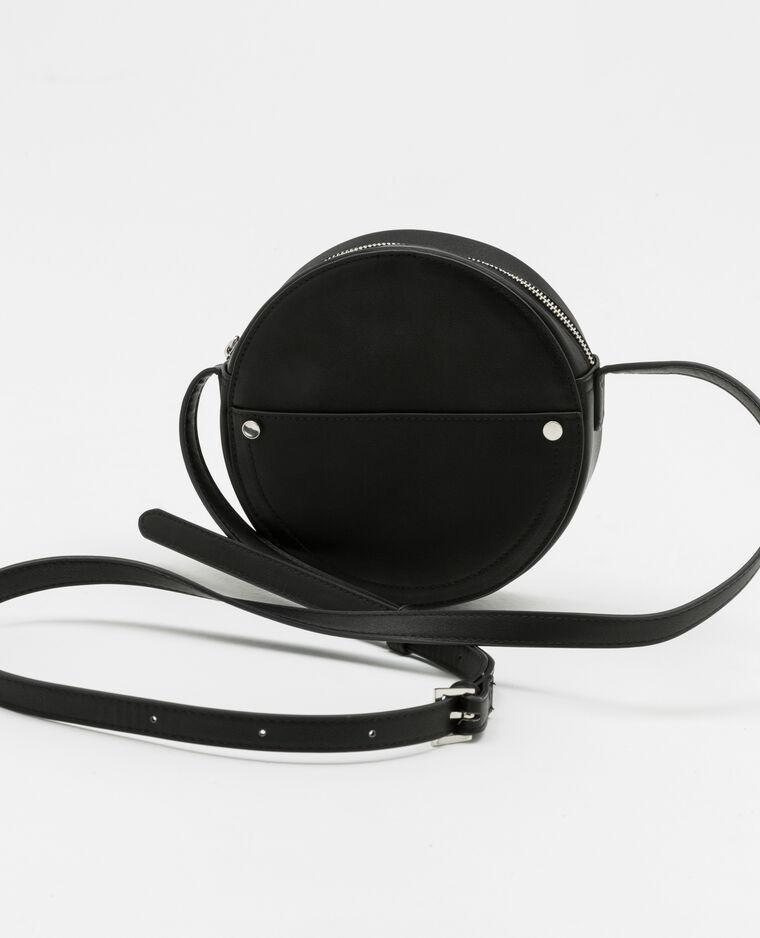 e7d770dcbf Sac rond en faux cuir noir - 916302899A08 | Pimkie