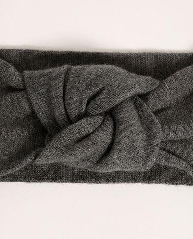 Headband tricot gris - Pimkie