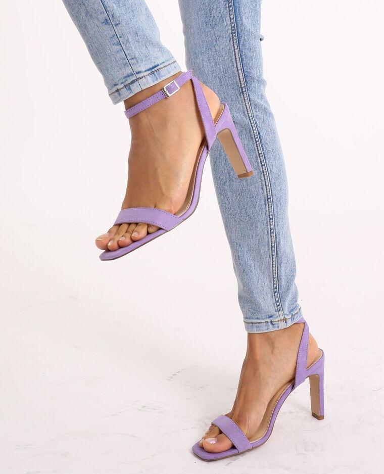 Sandales à talons rose - Pimkie