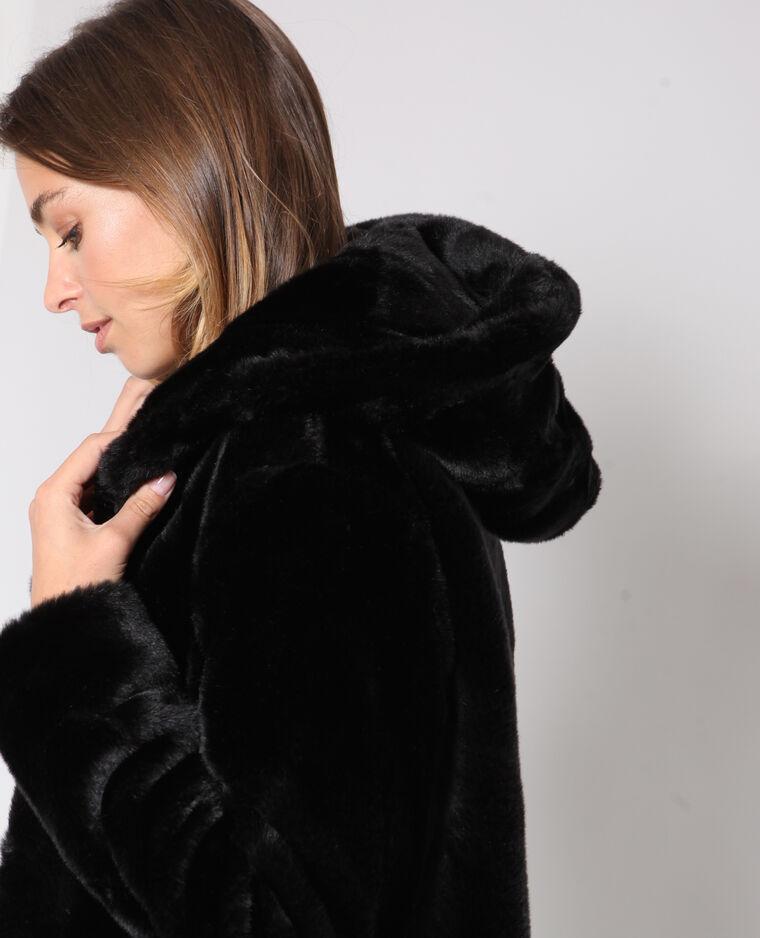 manteaux femme fausse fourrure