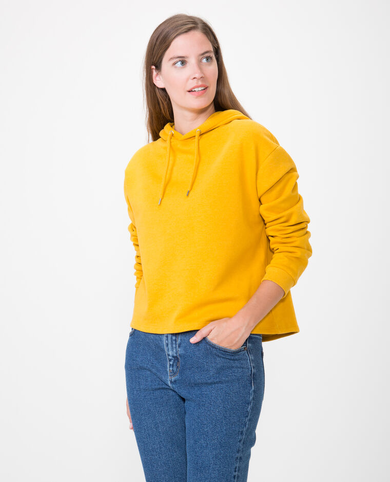 Sweat court jaune - Pimkie