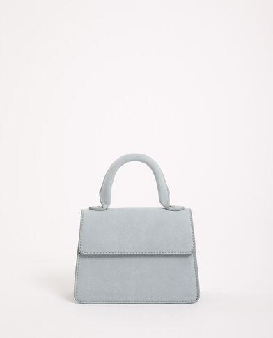 Mini sac suédine bleu ciel - Pimkie