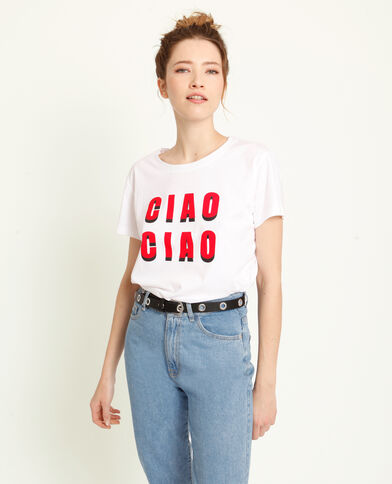 047f2670b4c T-shirt Ciao Ciao blanc