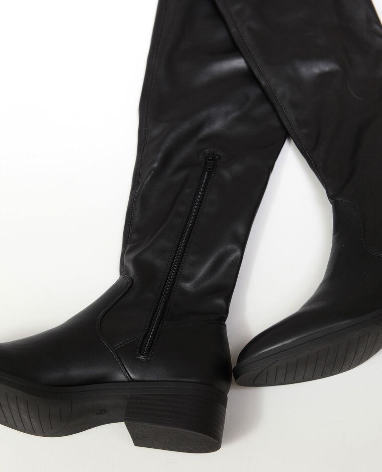 844c13bd390 Cuissardes en simili cuir noir - 916747899A08