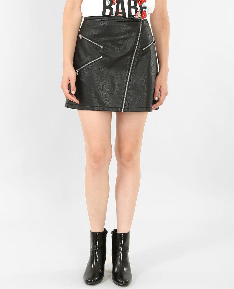 089aebd06a777d Mini jupe en similicuir