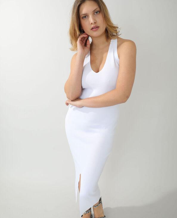 Robe bodycon blanc - Pimkie