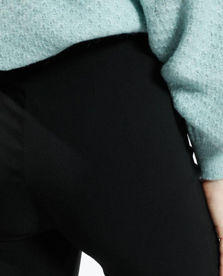 Pantalon flare noir - Pimkie
