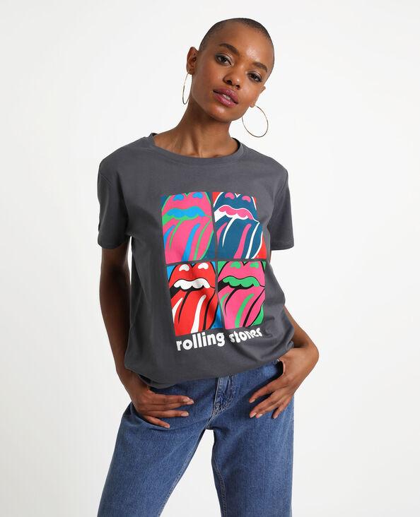 T-shirt The Rolling Stones noir