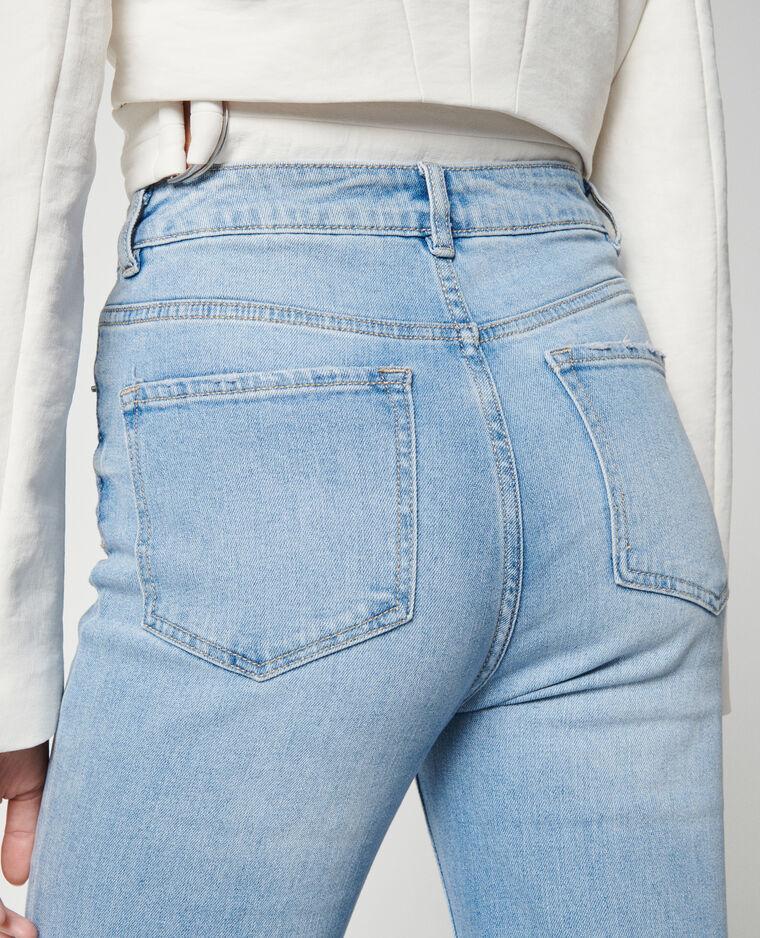 Jean flare high waist bleu clair - Pimkie