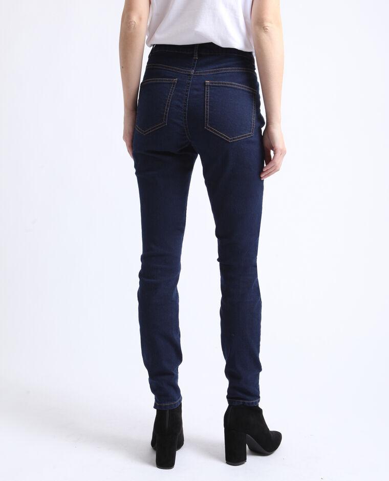 Jegging mid waist bleu foncé
