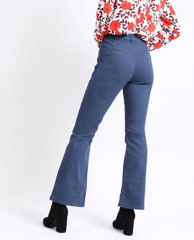 Pantalon flare bleu foncé e4ece337da36