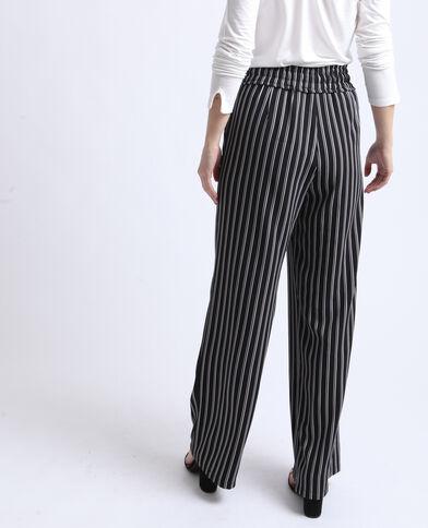 f35823117a65 Pantalon large noir