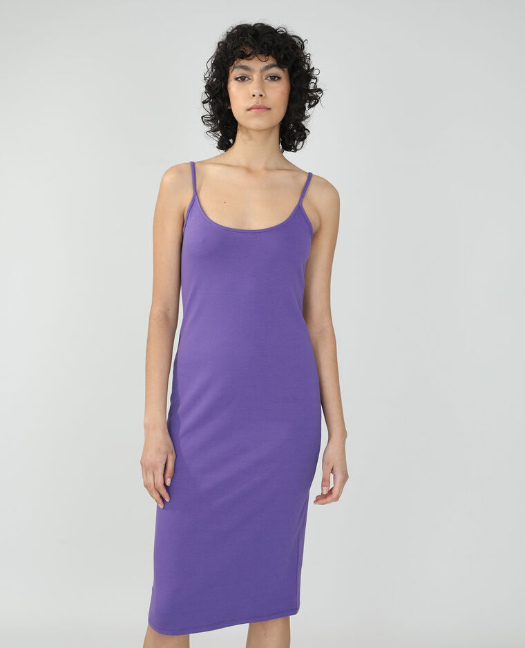 Robe longue moulante violet - Pimkie