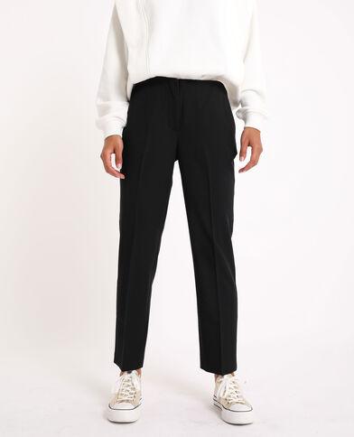 Pantalon droit noir