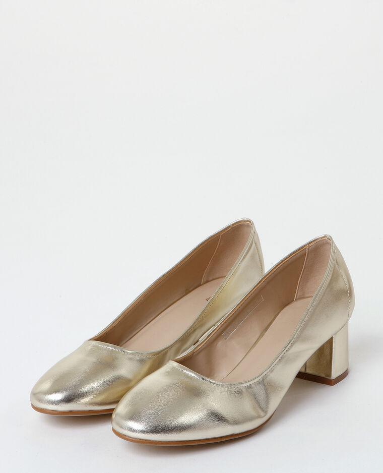Escarpins dorés doré - Pimkie