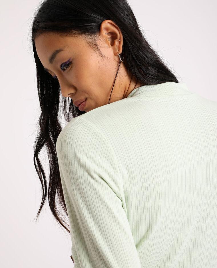 T-shirt cropped vert - Pimkie