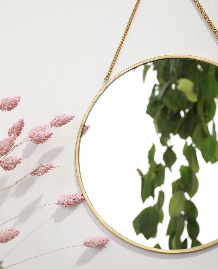 Miroir à chaînette jaune - Pimkie