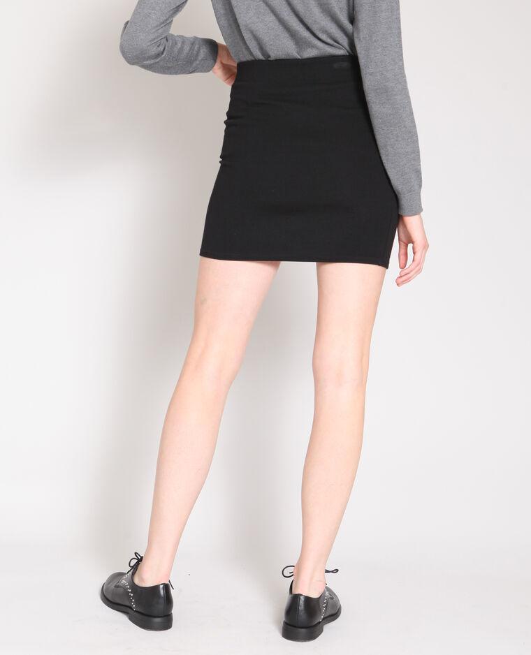 8a8b4f0c0432 Mini jupe moulante noir  Mini jupe moulante noir