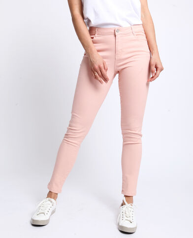 e8c0b7b748ed8 Pantalon push up mid waist rose