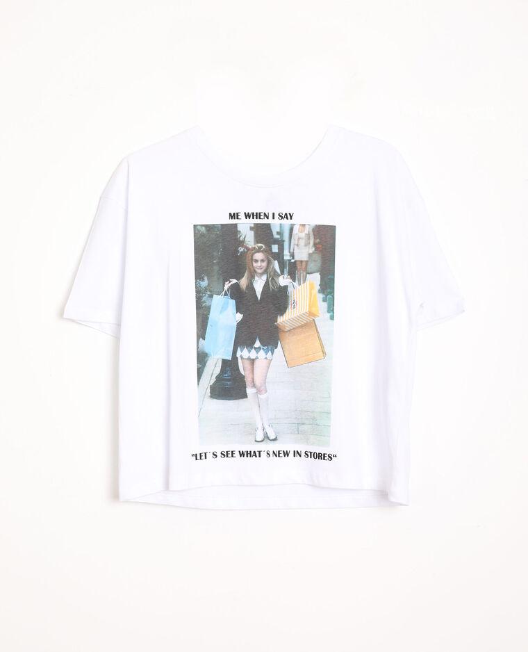 T-shirt mème écru - Pimkie