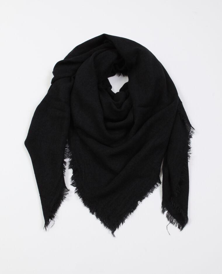 Foulard fin noir